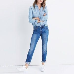 Madewell Slim BoyJean in Walton Wash Size 26